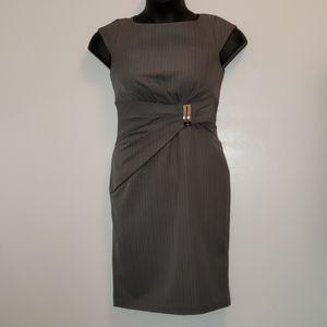 Pinstriped Jones Wear Dress